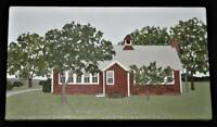 "Barbara Hadden Oil on Canvas HOUSE IN NEW YORK  Signed 9"" x 16"""