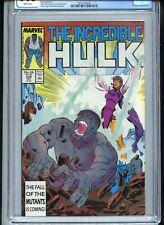 Incredible Hulk #338 CGC 9.6 White Pages McFarlane