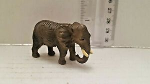 1 Elephant Figurine Birthday Party Cake Topper Decoration Toy Educational Animal