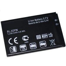 Replacement LG BL-42FN Battery for Optimus ME C550 P350 P355 1250mAh 1Year Warra