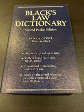 Black's Law Dictionary : Pocket Edition (Trade Paperback)