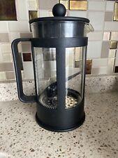 Bodum Kenya French Press Coffee Maker - Black Matte Plastic 8 Cup 32 Oz