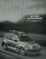 2001 Chrysler PT Cruiser ACCESSORIES / OPTIONS Brochure:Roof RACK,GROUND EFFECTS