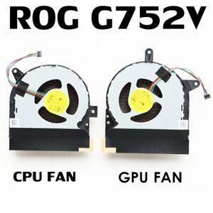 ASUS ROG G752VY G752VY-RH71 GFX72VY CPU & GPU Cooling Fan GTX980M