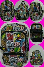Marvel comics/superheroe all over print, school/uni/gym/travel backpack/rucksack
