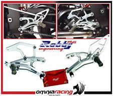 Pedane Arretrate Robby Moto Honda RC45 RC30 RC 30 RC 45
