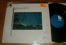 "DONALD BYRD Orig 1980 ""Chant"" LP Blue Note SHRINK NM-"