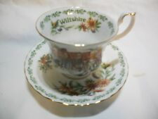 Royal Albert English Country Cottages Wiltshire Teacup and Saucer