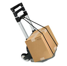 Foldable Aluminium Folding Luggage Cart And Hand Truck Trolley Wheels 176lbs