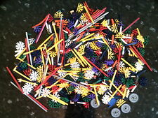 K'nex A Good Selection Of Knex Parts App 500g 1/2 kg  Of Mixed Parts when bagged