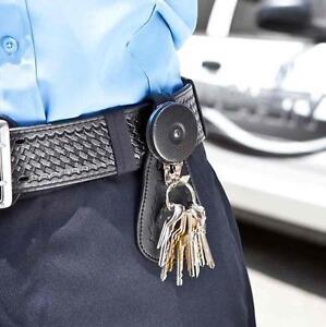 KEY-BAK UNIFORM PROTECTOR 60cm CHAIN  REEL WITH TAB TO SHIELD KEYS AND TOOLS.