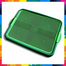 DOG TRAINING TOILET Puppy Pad Holder Tray Indoor for Pets Cat Green BLYSS PETS