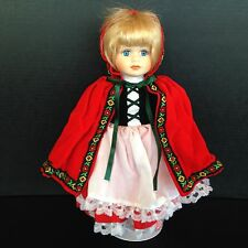 "BRADLEY COLLECTOR'S  DOLL ""Little Red Riding Hood"" in original box, 202/5000"