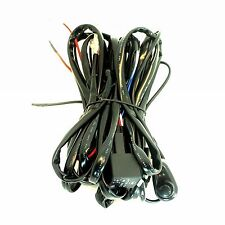 WIRING HARNESS KIT FOR LED WORK LIGHT BAR WITH ON/OFF SWITCH RELAY JEEP 4WD