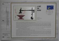 Document philatélique CEF Soie 694 1er jour 1983 Art du Bijou
