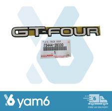 GENUINE TOYOTA JDM REAR EMBLEM BADGE FITS CELICA GT-FOUR GT4 ST205 75444-2B330