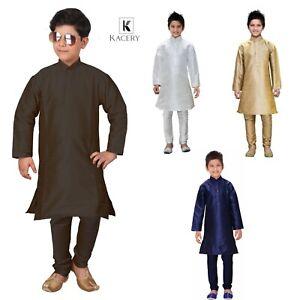 Boy's Kid's Indian Dupin Kurta Pajama Traditional Outfit BK560