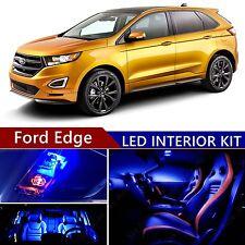 12pcs LED Blue Light Interior Package Kit for Ford Edge 2007-2015