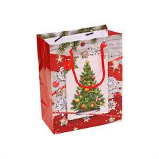 Christmas Gift Bag Paper Bag Packaging Kraft Paper Bottom Tote Bag Mini