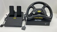 VTG Mad Catz Dual Force Racing Wheel For Playstation 1