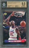 Michael Jordan Card 1992-93 Ud All-Star Weekend #15 BGS 9.5 (9.5 9 9.5 9.5)