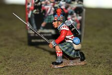 King & Country Napoleonic NA67, 42nd Black Watch Highlander Kneeling To Repel