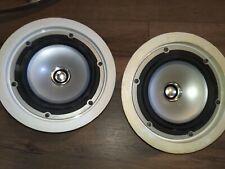 Pair of (2x) KEF Ci130.2QR In-Ceiling Speaker Thin Bezel