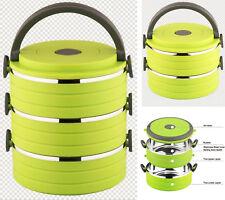 Tiffin Caja Del Almuerzo Bento Termo Calor Alimentos Contenedor portátil compacto Calientaplatos