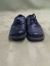 Smart Fit Kids Size 11 Skid Resistant Laced Boys Dress Shoes Black slightly used