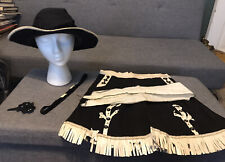 Vintage 1940's Yankiboy Play Clothes Cowgirl Costume Size 10 No. 574