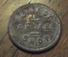 Vintage SMOKE SHOP 10 cent Token Perry St