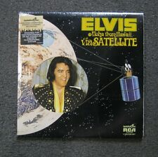 Elvis Presley - Aloha From Hawaii Via Satellite LP Quadradisc RCA 1973 vinyl Pop