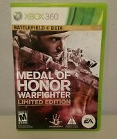 Medal of Honor Warfighter Xbox 360 Limited Edition 2 Disc Has No Manual 2012