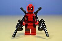 lego MARVEL SUPER HEROES DEADPOOL MINIFIGURE 6866 AUTHENTIC!!