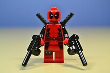 Lego Marvel Super Heroes  Original DEADPOOL Minifigure 6866