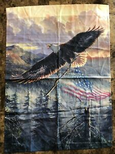 Persis Clayton Weirs America Eagle Curtain 27 X 36 1/2""