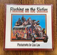 FLASHING ON THE SIXTIES Lisa Law Book Ken Kesey Tim Leary LSD - NEW OLD STOCK