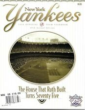 New York Yankees Official Yearbook 1998