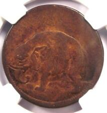 """1694 Elephant Thick Colonial Piece with """"God Preserve London"""" - NGC VG10!"""