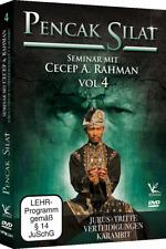 Pencak Silat Seminar mit Cecep A. Rahman Vol.4 DVD Jurus Karambit ...