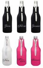 Wedding Stubby Holder Bottle Cooler Bridal Party Favour Groomsman Gifts