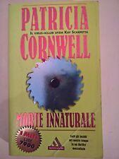 LIBRO - PATRICIA CORNWELL - MORTE INNATURALE - I MITI MONDADORI 1999