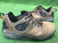 NAUTILUS Men's Size 10 Work Steel Toe Safety Shoes New N1303 Brown Leather