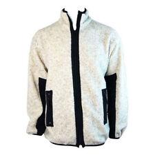 Krakatau Kendal Mens Heavy Fleece Jacket Coat (Grey) - S