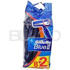 GILLETTE RASOIO DA BARBA BLUE 2 - 10PZ