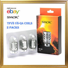 AUTHENTIC SMOK TFV8 Cloud Beast V8-Q4 Replacement Coils 2 PACKS FOR TFV8 TANK
