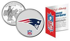 NEW ENGLAND PATRIOTS Officially Licensed NFL Massachusetts US State Quarter Coin