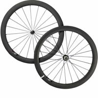 700C Bike Carbon Wheelset 38/50/60/88mm Clincher Road Wheels 25mm Width Bicycle