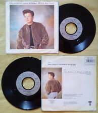 """7""""45 Giri Rick Astley She Wants To Dance With Me WEST GERMANY 1988 no lp cd mc"""