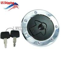 Fuel Gas Cap Lock Keys For Kawasaki Ninja ZX6 ZX600E 1993-2002 ZZR-400 1993-2006